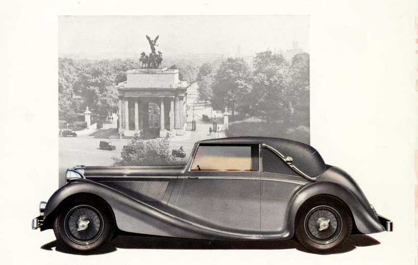 Jaguar MK IV Coupe